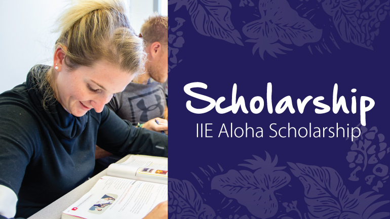 iie hawaii scholarships